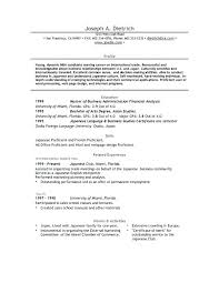 Sample Resume For Master Degree Application by Example Resume Graduate Application Templates