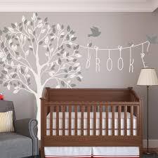 nursery tree wall decal with name wallboss wall stickers wall