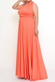 coral plus size bridesmaid dresses infinity dresses plus size dresses coral to 5xl