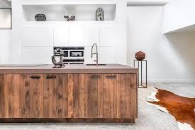 bois cuisine marvelous plan cuisine en longueur 11 cuisine en bois quel