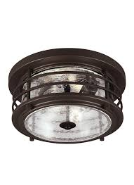 Outdoor Flush Mount Ceiling Light 7824402 71 Two Light Outdoor Ceiling Flush Mount Antique Bronze