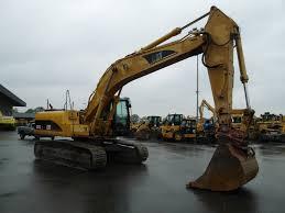 used track excavators caterpillar 325cln year 2002 prima equipment