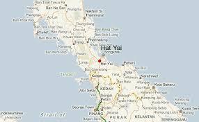 map of hat yai hat yai weather forecast