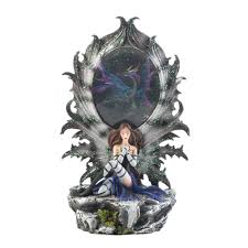 dragon home decor fairy and dragon lighted figurine wholesale at koehler home decor
