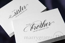 groom card from wedding greetings to my family wedding day card calligraphy style