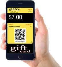 mobile gift cards reloadable gift cards nidos