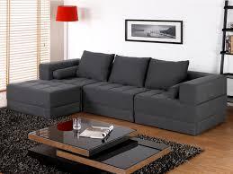 canapes modulables tissus canapé d angle modulable en tissu et coloris gris sisco