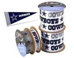 dallas cowboy ribbon nfl licensed dallas cowboys ribbon 4 offray prints widths