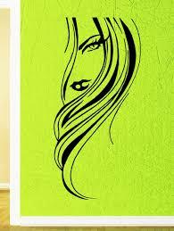 Amazon Wall Murals Amazon Com Beautiful Woman Face Sexy Lips Hair Decor Wall
