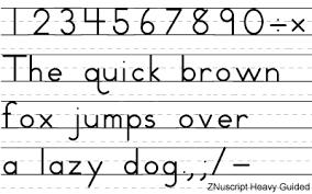 design lines font zaner bloser font set with 30 manuscript and cursive writing