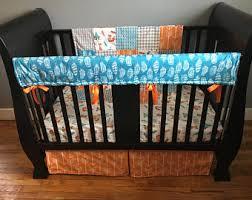 Orange Crib Bedding Orange Crib Bedding Etsy
