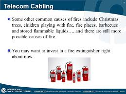 telecom cabling fire stopping ppt download