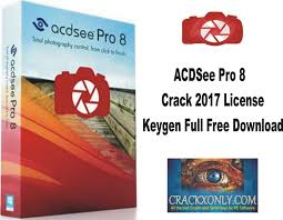 acdsee pro 8 2017 license keygen full free download acdsee