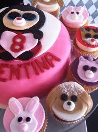beanie boo cake google birthday parties