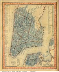 Soho Nyc Map Old Maps Of Manhattan New York City
