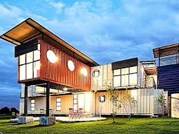 natural nice design of the affordable prefab homes that can be