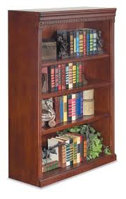 Solid Cherry Wood Bookcase Amazon Com Martin Furniture Huntington Club Office Open Bookcase