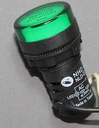 24vdc led indicator light green led indicator light 24vac 24vdc electric panel pilot light 2
