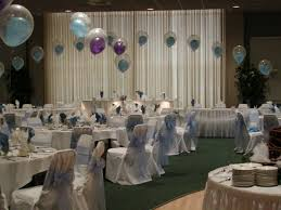 wedding centerpieces for round tables superb party balloons decorations with white plate on round table