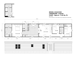 3 bedroom single wide mobile home floor plans gallery with