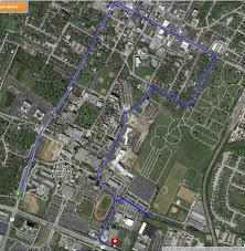 University Of Kentucky Campus Map Eku Campus Map Eku Map My Blog Spring Construction Parking Map