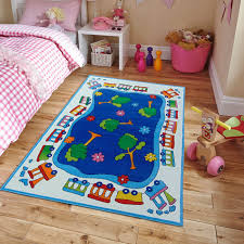 Kids City Rug by Amazon Com New Soft Kids Rugs For Boys And Girls Street Map Blue