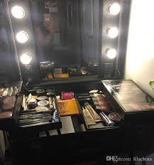 makeup artist light rolling studio makeup artist cosmetic w 6x 40w light bulb