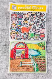 farm 10 in story picture pocket felt boards felt pieces