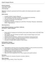 graphic design position description resume cv cover letter