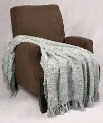 bnf home multi color chenille couch throw blanket 50x60