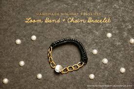 handmade chain bracelet images Handmade holiday presents diy loom band chain bracelet minted jpg