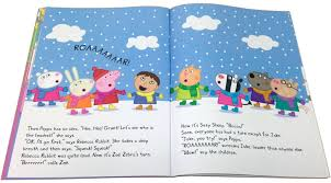 christmas peppa pig child peppa playgroup