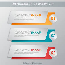 layout banner template infographic banners template pack vector premium download