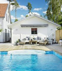 simple yet beautiful scandinavian deck designs for your backyard