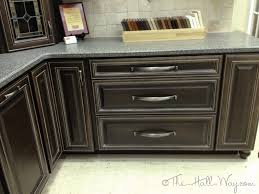 furniture classic venetian espresso kitchen cabinets with gray