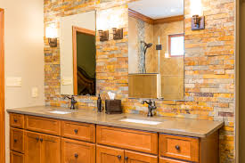 27 nice ideas and pictures of natural stone bathroom wall tiles
