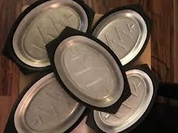 sizzle plates 5 vtg nordic ware steak fajita serv a sizzle plates trays bakelite