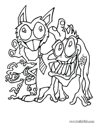 scary dragon coloring pictures monster tie source printable