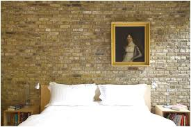 interior stone wall textures ideas for bedroom with decor that has