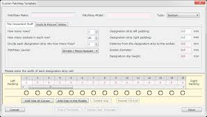 Patch Panel Label Template Excel Buy Patchcad Patchbay Design And Labelling Software