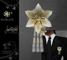 gold boutonniere second marketplace ecarlate 10 buttonhole gold