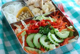 thai chicken noodle salad recipe beneficial bento