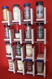 Red Spice Rack Great Vinopallet Wood Spice Rack Organizer Wall Mounted Hand