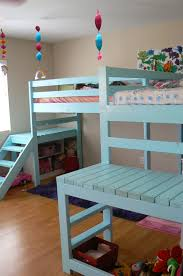 Ana White Painter U0027s Ladder by Ana White Two Camp Loft Beds Diy Projects