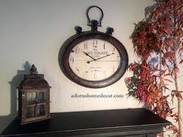 Decorative Wall Clocks Australia Antique Large Wall Clock U2013 Philogic Co