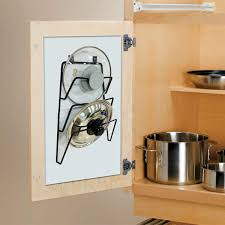 kitchen cupboard storage pans pan lid holder and organiser wall or door mounted kitchen