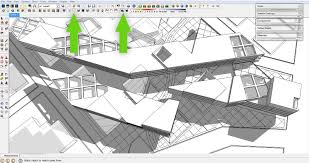 sketchup layout line color sketchup to photoshop no render engine required visualizing