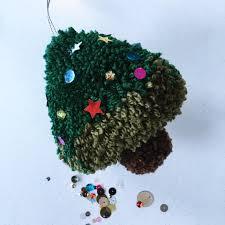 Pom Pom Trees Christmas Tree Pom Pom Tutorial U2022 Loveknitting Blog