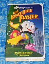 The Brave Toaster The Brave Little Toaster Vhs Ebay