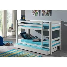 chambre en pin massif pas cher lit superposé en pin massif tiroir lit woody pas cher à prix auchan